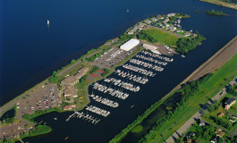 Barkers Island Marina (photo from City of Superior)