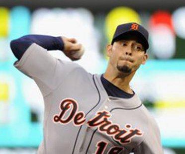 Detroit Tigers RHP Anibal Sanchez