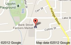 Location of the Kalamazoo's Farmer's market.