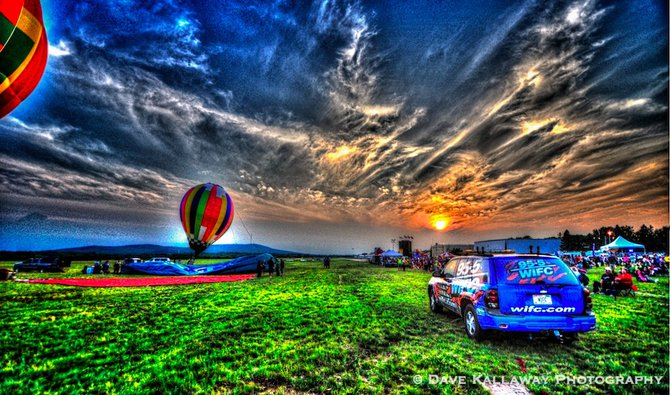 Beautiful Sunsets nightly..getting ready for one of the Balloon Glows!!