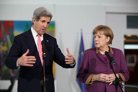 Kerry & Merkel