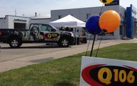 Q106 at Feldman's Bud Kouts Chevy (7-12-14): Cover Image