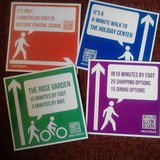 Duluth walking signs