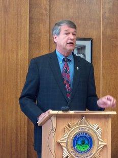 Attorney General Wayne Stenehjem (Prairie Public Radio)