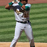 Oakland Athletics Outfielder Yoenis Cespedes (Wikipedia)