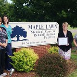 Maple Lawn Medical Care and Rehabilitation Facility 2014 Governor's Award