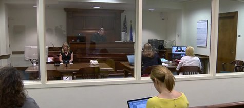 Prosecutors in Brown County discuss their case of a heroin ring that was busted up this week with the arrest of nine suspects on July 16, 2014. (Photo from: FOX 11/YouTube).