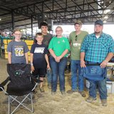 The South Dakota State University Livestock Judging Team held its second annual youth livestock judging camps in June. (Courtesy Igrow.org)