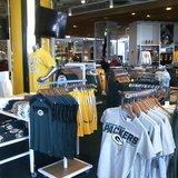 Inside of the new Green Bay Packers Pro Shop on July 17, 2014. (Photo Copyright Midwest Communications, Inc.)
