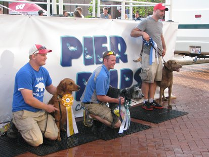Top dogs in Pier Pup competition