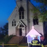 Bonanzaville church fire