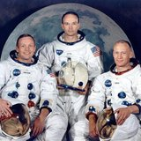 Apollo 11 crew (Reuters/NASA)