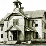 The original home of the bell, Birnamwood High School. Credit for photo to Leland A. Fischer.