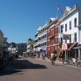 Mackinac Island downtown