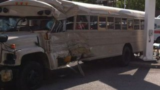 church bus involved in crash