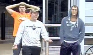The suspects can be seen in this surveillance photo.
