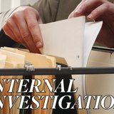 Internal Investigation graphic. Copyright Midwest Communications, Inc. 2014