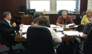 Wausau City Council's Finance Committee PHOTO: Midwest Communications