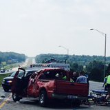 07-23 I-70 accident pic 1 provided by Indiana State Police