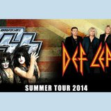 Image courtesy of Courtesy of KISS and Def Leppard (via ABC News Radio)
