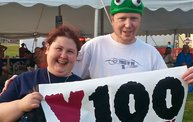 Paperfest 2014 in Kimberly with Y100 4