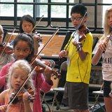 Young musicians at UWSP Aber Suzuki Instutute