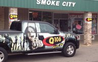 Q106 at Smoke City - Michigan Center (7-25-14): Cover Image