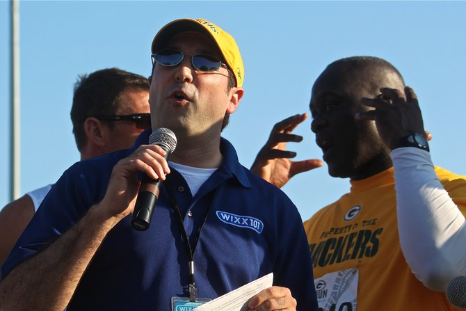 Nick hosts the Packers 5K