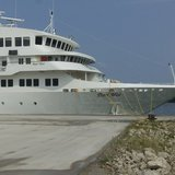 The Pearl Mist docked in Holland
