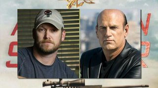 Chris Kyle and Jesse Ventura