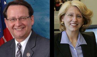Gary Peters and Terry Lynn Land