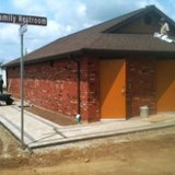 Work being completed on new restrooms at the Branch County Fairgrounds July 30, 2014