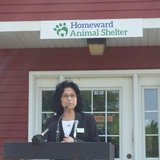 Homeward Animal Shelter Executive Director Nukhet Hendricks