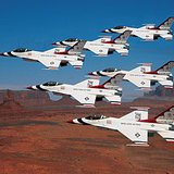Air Force Thunderbirds  Photo: Wikipedia