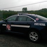 A Wisconsin State Patrol squad car (Photo Copyright Midwest Communications, Inc.).
