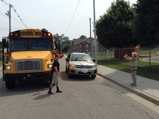 school bus stop arm violation
