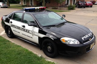 Appleton police squad car. (Photo from: FOX 11).