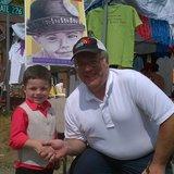 Bobby Tufts with KFGO's Bob Harris