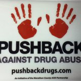 Pushback Against Drug Abuse logo