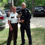 Clay County Sheriff Bill Bergquist West Fargo Police Chief Mike Reitan