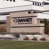 The sign for Gannett Newspapers at their building in Appleton, Wisconsin. (Photo By self (Own work) [CC-BY-SA-2.5 (http://creativecommons.org/licenses/by-sa/2.5)], via Wikimedia Commons).