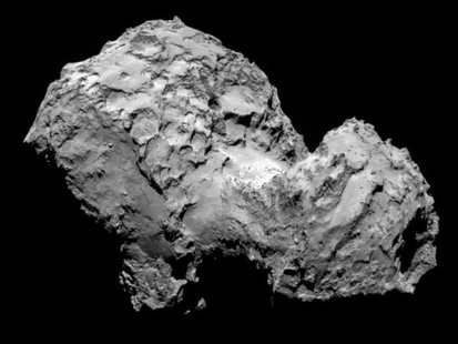 A handout photo of comet 67P/Churyumov-Gerasimenko by Rosetta's OSIRIS narrow-angle camera on August 3, 2014 from a distance of 285 km (177 miles), made available by the European Space Agency (ESA) More... CREDIT: REUTERS/ESA/ROSETTA/MPS FOR OSIRISTEAMMPS/UPD/LAM/IAA/SSO/INTA/UPM/DASP/IDA/HANDOUT VIA REUTERS