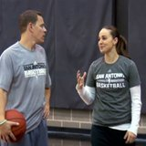 Becky Hammon, image courtesy San Antonio Spurs