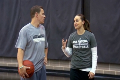 Becky Hammon, image courtesy San Antonio Spurs