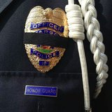 Fargo Police Honor Guard members attend funeral for Mendota Heights Police Officer Scott Patrick