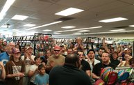 Q106 at Disc Traders - Battle Creek (8-2-14) 3