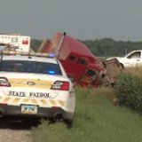 The Highway Patrol investigates a fatal crash near Kindred