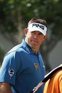 Professional golfer Lee Westwood (Wikipedia)