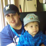 Photo of missing 39-year-old Heather Smith and her 4-year-old son Beau. (Photo from: Ashwaubenon Public Safety).