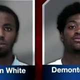 Thornton White and Demonte Ayers. (Photo from: FOX 11/YouTube).